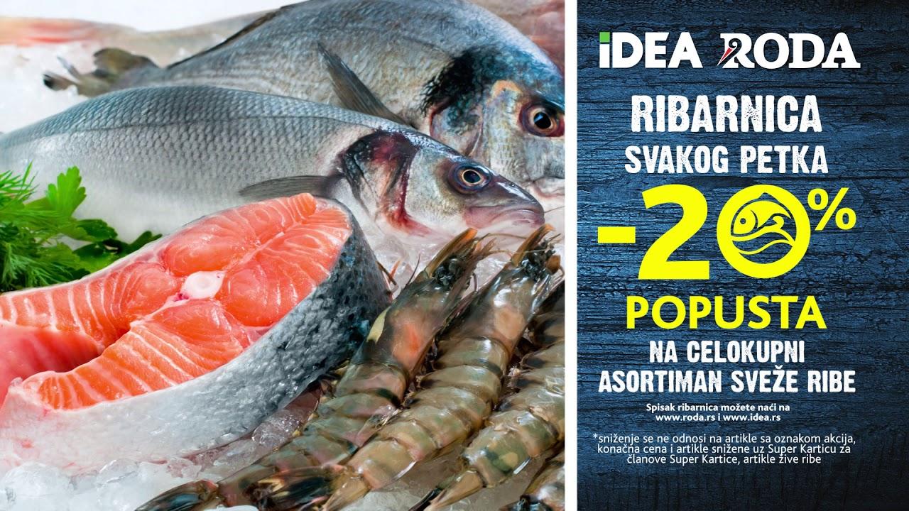 IDEA | -20% popusta na svežu ribu 9-12.07.2020.
