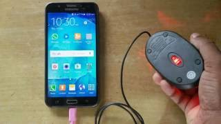 Samsung Galaxy J7 OTG test with Usb Mouse ᴴᴰ| J7 Prime | J7 6 | J7 Max | J7 PRO | ALL OTG SUPPORT