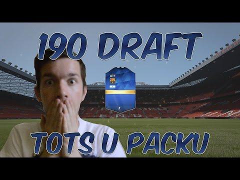 Fifa 16 190 Draft i TOTS u Packu