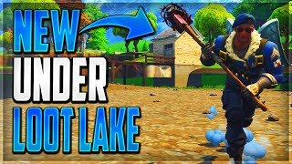 GLITCHES FORTNITE SEASON 5 - *NEW METHOD* UNDERGROUND WALLBREACH GLITCH LOOT LAKE FORTNITE BR 2018