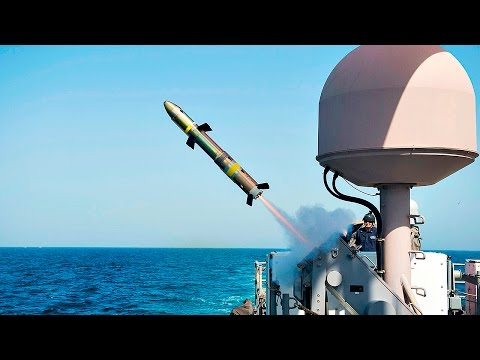 Pirates' Worst Nightmare: Griffin Missile System Test Fire