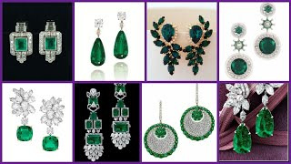 Best Artificial,Crystal And Diamond Stones Earrings For Women's Latest Ideas For You [MUST WATCH]