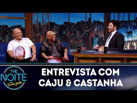 Entrevista com Caju & Castanha   The Noite 090519