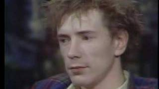 John Lydon on the Tom Snyder Show 1980 - Part 2