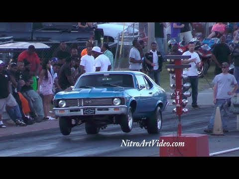 Phenix City Dragway Shake Downs, Test Hits, Grudge Racing, No Time NT Drag Racing Action