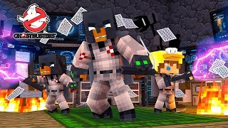 Minecraft GHOSTBUSTERS - HOW TO BECOME A REAL LIFE GHOST BUSTER & FINDING THEIR SECRET BASE!!