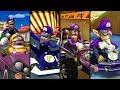 Evolution of Waluigi in Mario Kart (2003-2019)