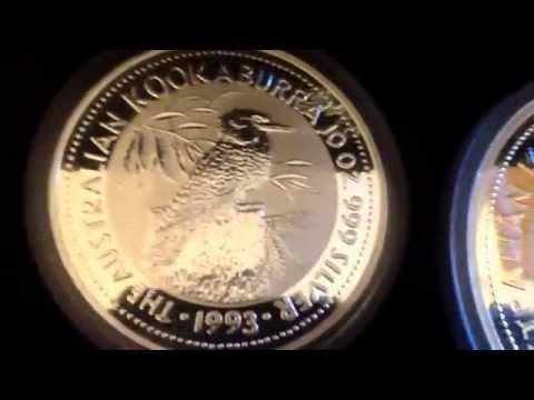 $1k For Sale 1993  Silver Australian Large Coin Series....Kilo, 10oz, 2oz / 44+ Troy Oz