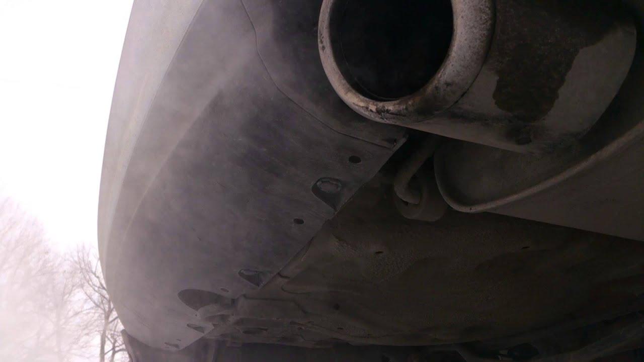 subaru legacy gt 2L turbo удален катализатор и установлен даунпайп exhaust sound