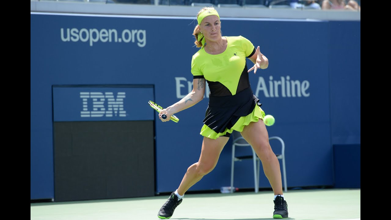 2017 US Open 15 Love with Svetlana Kuznetsova