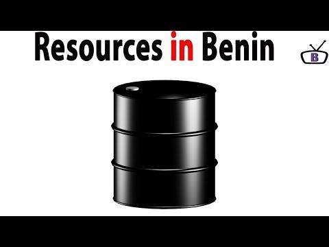 Major natural Resources in Benin Republic