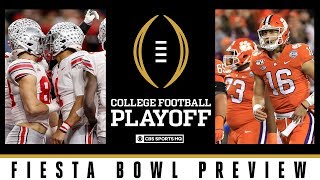 Fiesta Bowl Preview: #2 Ohio State vs #3 Clemson | College Football Playoff | CBS Sports HQ