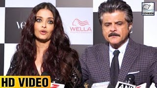 Aishwarya Rai and Anil Kapoor Talk About Fanney Khan LOOK | LehrenTV