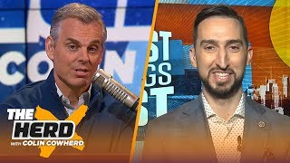 Download Never a moment Brees has been best QB in NFL, Kawhi controls the Clippers — Nick Wright   THE HERD Mp3 and Videos