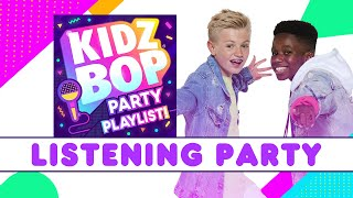 KIDZ BOP Party Playlist - UK Listening Party!