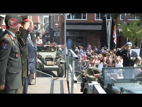 Stichting Regionale Veteranendag Noord-West Veluwe - 6 juli 2013 - Eerbetoon aan veteranen - 33 min.