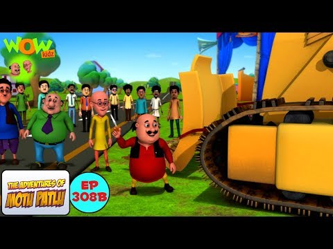 Motu ka bulldozer - Motu Patlu in Hindi -...