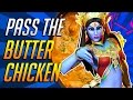 "watch he video of ""Does Symmetra like Butter Chicken?"" 