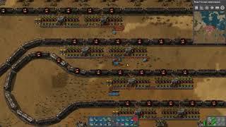 Factorio 32-128 train