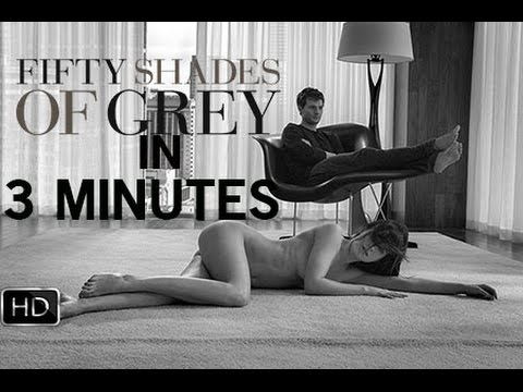 fifty shades of grey in 3 minutes youtube. Black Bedroom Furniture Sets. Home Design Ideas