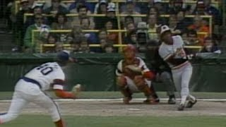 1983 ALCS Gm4: Landrum