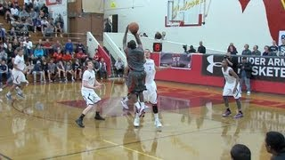 Mario Dunn '13, Salesian Senior, 2012 Under Armour Holiday Classic
