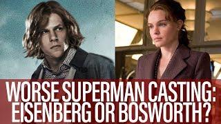 TJCS Compainion Video - Worse Superman Casting: Eisenberg Or Bosworth