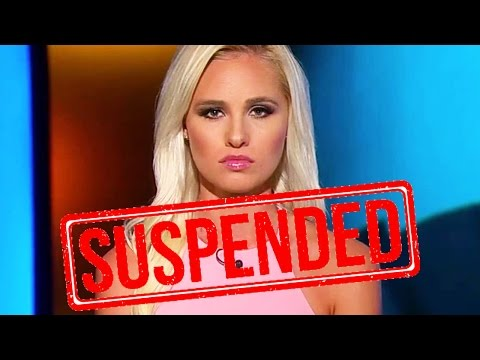 Tomi Lahren Suspended By The Blaze