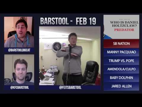 Barstool Rundown // February 18th 2016