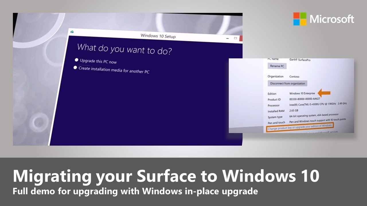 Microsoft Shows How To Upgrade Surface Devices To Windows 10 In New Video   On Msft