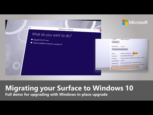 How to upgrade Surface Pro 3 and Surface 3 to Windows 10