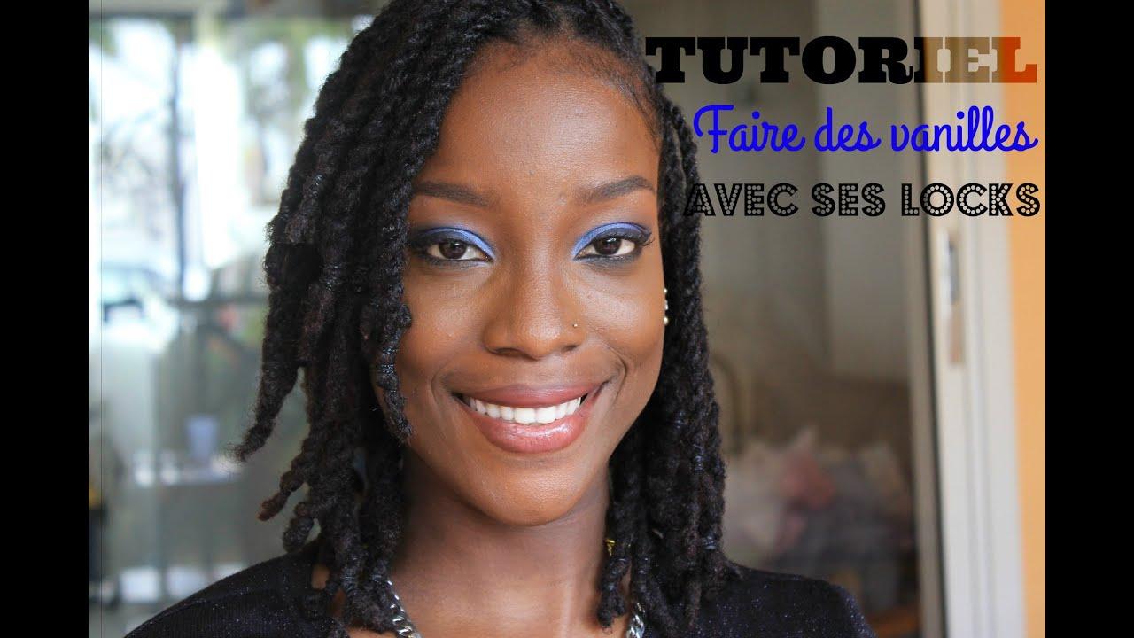 Populaire TUTO : Faire des vanilles sur des locks - YouTube GV81