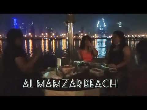 AL MAMZAR BEACH | FIRST TIME OUTING BONDING | Mga Butanding sa DUBAI