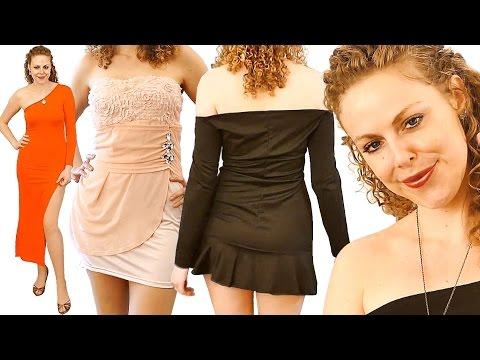 asmr-dress-up-fashion-show-haul-5-cheap-dresses-by-newdress-whisper-ear-to-ear-binaural