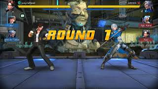 MY FAVORITE MOBILE FIGHTING GAME IS BACK! FINAL FIGHTER ONLINE MATCHES