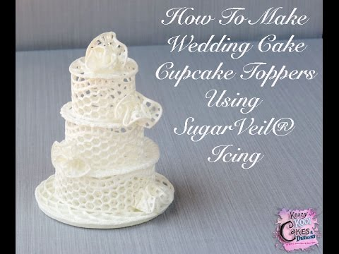 how to make wedding cake icing how to make wedding cake cupcake toppers using sugarveil 16034