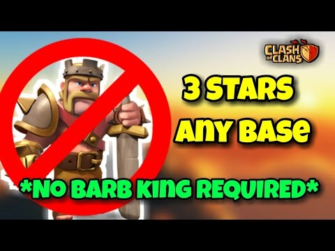 """""""NO ROYALS REQUIRED""""   Th9 Best 3 Stars War ATTACK Strategy W/O """"BARB KING""""   Clash Of Clans"""