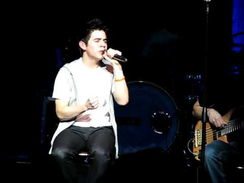 David Archuleta Somebody Out There - SLC