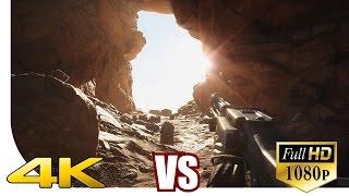 Star Wars: Battlefront - ! 4K vs. 1080p ! - Resolution Comparison - MRGV   [UHD] [Ultra HD] [2160p]