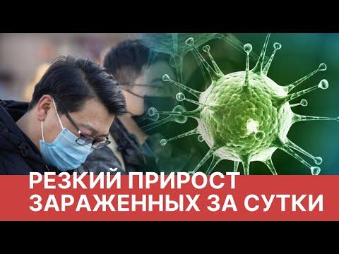Китайский коронавирус. Резко возросло число зараженныхх Новости о вирусе из Китая. Коронавирус 2020