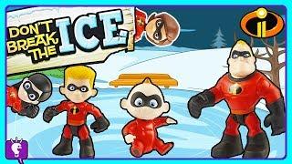 Incredibles Save Jack Jack! Board Game Play by HobbyKidsTV