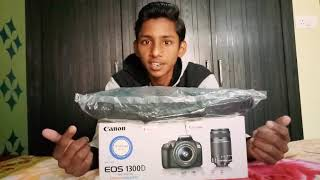 Canon Dslr 1300d Unboxing And Reviews In Hindi