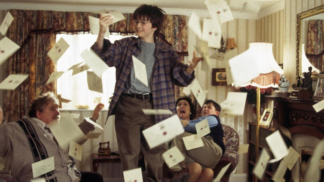 The Hogwarts Letter Harry Potter And The Sorcerers Stone Hd Youtube