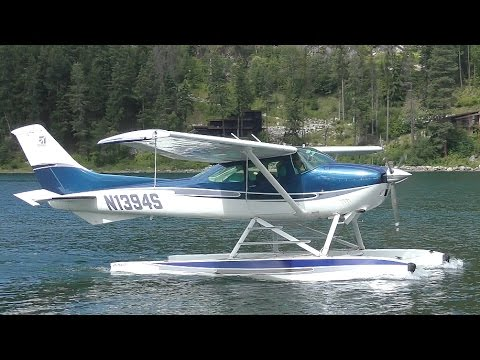 Download Cessna 182 Skylane Seaplane Takeoff