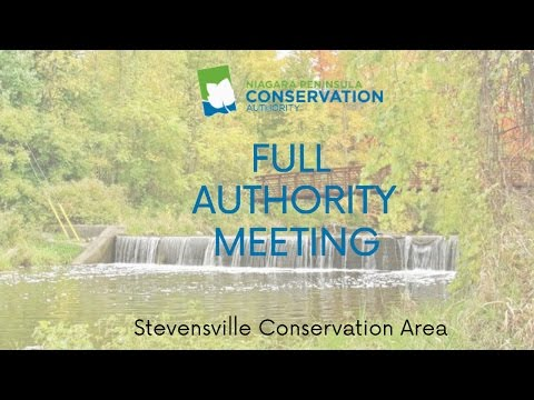 NPCA Full Authority Meeting - September 21st, 2016