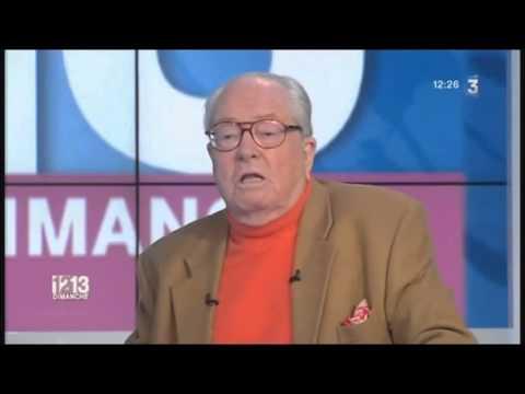 Emission intégrale Jean-Marie Le Pen sur France 3 du 10 février 2013