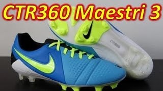 Nike CTR360 Maestri 3 Current Blue - Unboxing + On Feet f2a8a4a8ad1b