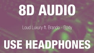 Baixar Loud Luxury ft. Brando - Body | 8D AUDIO