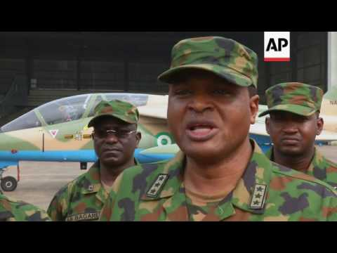Nigerian airforce stages counter-terror drill