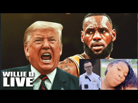 Donald Trump Calls Lebron James A Racist for Pointing Out RACISM In Ma'Khai Bryant Shooting